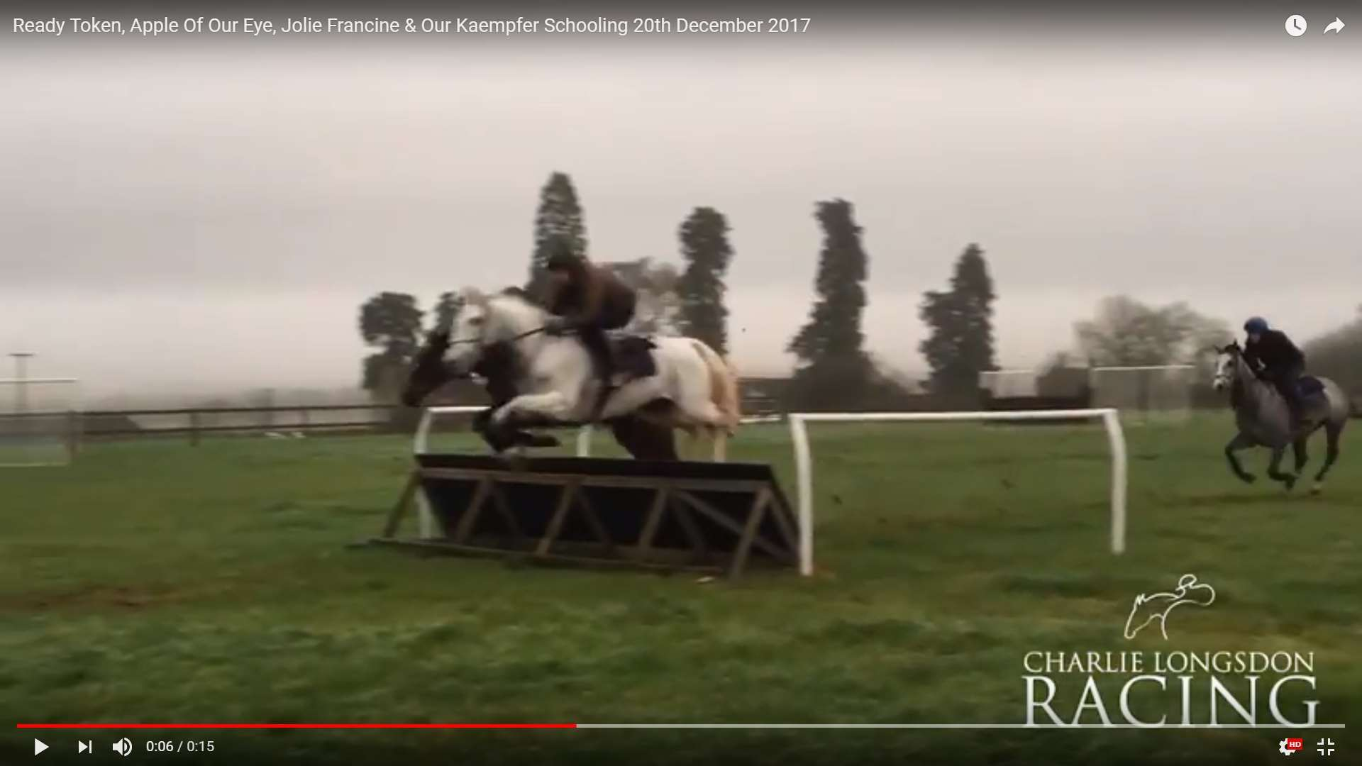 Schooling - Ready Token, Apple Of Our Eye, Our Kaempfer & Joile Francine 20th December 2017