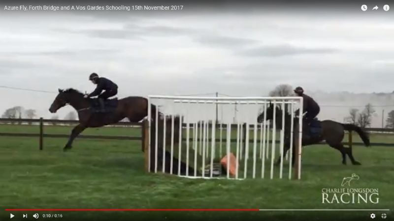Azure Fly, Forth Bridge and A Vos Gardes Schooling 15th November 2017