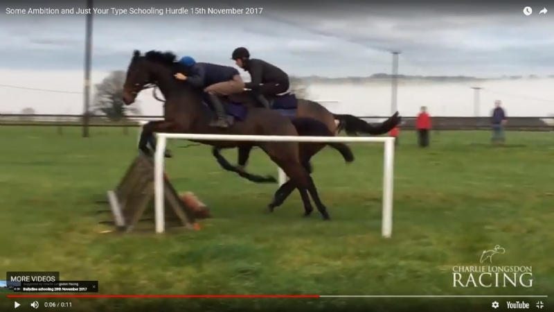 Some Ambition and Just Your Type schooling 15th November 2017
