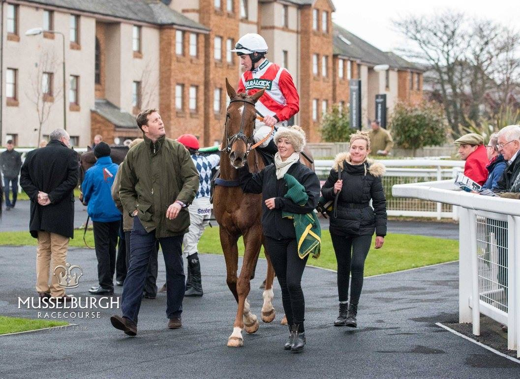Tree Of Liberty after winning at Musselburgh