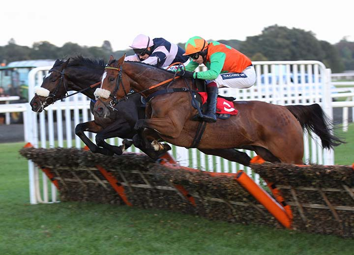 Leith Hill Lad winning at Kempton
