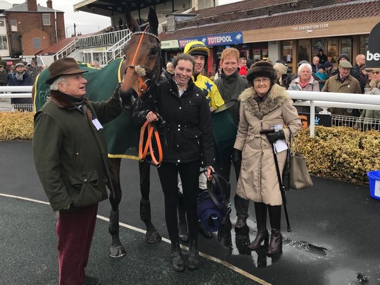 Louse Talk and connections after winning at Warwick